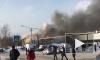 Появилось шокирующее видео пожара на улице Енисейской в Томске