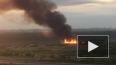 В Новосергевке утром горели паллеты: дым был виден ...