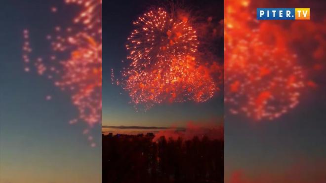 Как Петербург отпраздновал День Победы
