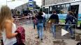 Видео: аварийные службы огородили место прорыва теплосети ...