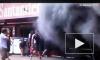 Пожар в боксах Williams на Ф-1 в Испании: десятки пострадавших