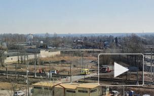 Появилось видео смертельного ДТП на ж/д переезде у Народного Ополчения