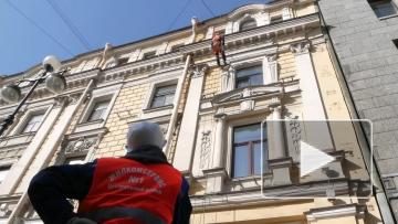 В Центральном районе приступили к промывке фасадов