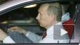 Путин снял пиджак и прокатился по ЗСД на мерсе