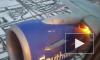 Видео из США: У пассажирского самолета в небе загорелся двигатель