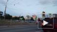 На перекрестке в Купчино столкнулись два автомобиля