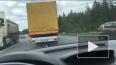 На трассе Скандинавия ДТП: столкнулись красная и черная ...