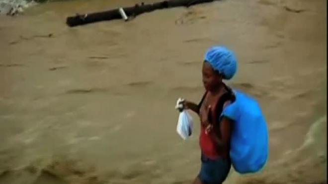 Жители Гаити страдают от «Томаса»