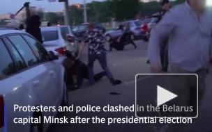 Британия осуждает попытки подавить протесты в Минске