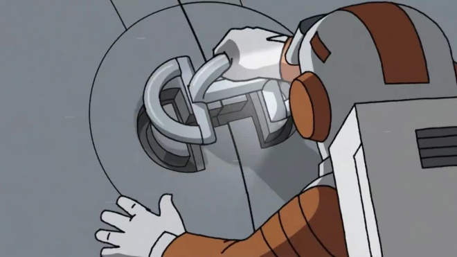 """Константин Бронзит представил тизер мультфильма """"Он не может жить без космоса"""""""
