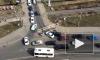 Видео: ДТП в Кудрово снова собрало пробку