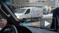 На Финляндском проспекте столкнулись грузовик и Хендай
