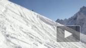 Сноубордист попал прямо в цель!