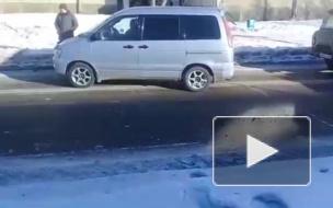В Ангарске автоледи сбила на переходе двух несовершеннолетних школьниц