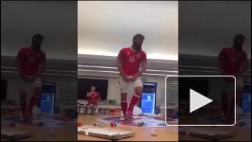 Танец валлийского полузащитника