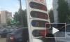 """Петербуржец """"подкорректировал"""" цены на бензин бампером своей иномарки"""