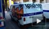 Появились первые фото обидных граффити на полицейской машине