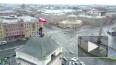 Видео: руферы установили триколор на крыше Московского ...