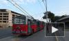 В Петербурге ремонтные работы изменят расписание движения троллейбусов