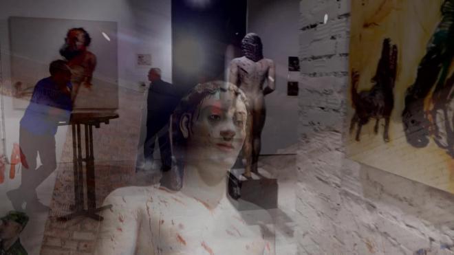 УЛИЧНОЕ И НЕБЕСНОЕ: выставка Дмитрия Марголина в ДК Громов