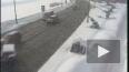 Столкновение 4-х машин на Кронверкской набережной