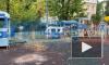 В Петроградском районе заметили площадку для юных ДПСников
