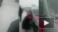 Видео из Омска: Пьяный водитель совершил ДТП и бился ...