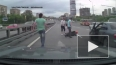 В Москве поймали водителя, изувечившего мотоциклиста