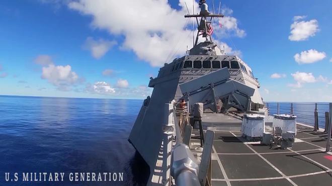 "США ""потеряли"" стелс-ракету корабля Gabrielle Giffords"