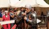 Видео: Александр Дрозденко открыл турнир рыцарей в Выборге с мечом в руках