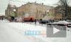 На перекрестке Клинского и Верейской прорвало трубопровод
