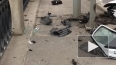 Видео: смертельное ДТП на Октябрьской набережной
