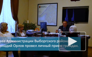 """Жители Выборга пожаловались Геннадию Орлову на гироскутеры и теплоход """"Короленко"""""""