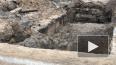 На Среднеохтинском проспекте нашли фундаменты зданий ...