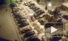 Видео из Подмосковья: В Видном неадекватный водитель протаранил 12 авто