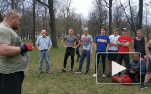 Вячеслав Дацик провел тренировку для будущих политиков