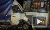 """Под Иваново у """"Газели"""" оторвало кабину после столкновения с автобусом"""