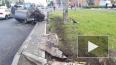 В субботу утром на проспекте Луначарского перевернулся ...