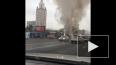 Москвичей шокировало видео с горящим автобусом на ...