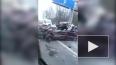 Появилось видео ужасающей аварии на Зеленогорском шоссе