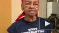 Пожилая американка забила грабителя столом