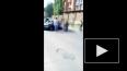 В Уфе бомба разорвала человека в автомобиле