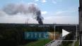 В Заневке в Ленинградской области горят склады