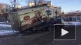 """На """"Академической"""" эвакуатор увез грузовик с хлебом"""