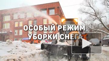 В Петербурге ввели в действие новый регламент уборки ...