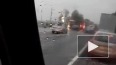 Появилось видео с места жуткого ДТП на Московском шоссе
