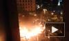 На Майдане вновь горят покрышки и собираются недовольные люди