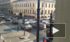 На перекрестке Чернышевского и Шпалерной столкнулись три автомобиля