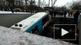 """СК: въехавший в переход на """"Славянском бульваре"""" автобус..."""