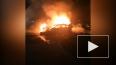 Видео: на Поэтическом бульваре сгорели три легковушки